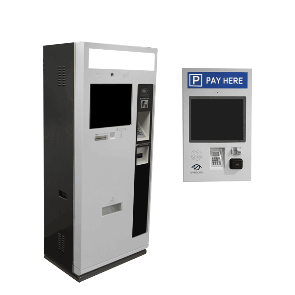 Card only payment kiosks and cash/card/coins machines for both indoor and outdoor facilities. Durable material, touch screen, intercom software and PCI DSS compliant.